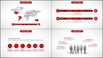 大气美观红色企业公司工作总结PPT模板三示例7
