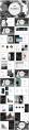 【简约商务】抽象黑色大理石现代商务汇报工作计划模板示例3