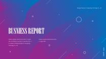 【商務】藍紫色幾何漸變工作通用模板55示例2