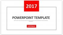 创意线框年终总结工作汇报新年计划模板