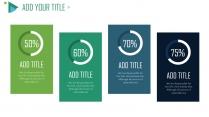【Pantone Green】商务蓝绿年终总结模板示例6