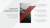 【红黑斜方】活力商务创意欧美大片质感模版示例7