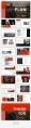 【简约商务】红色恢弘大气图文杂志PPT模板示例5