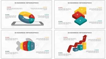 多彩3D立体商务图表20套【第二期】