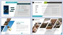 【设计感】清新简约杂志风PPT模板8示例5