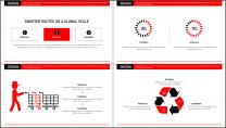 【商务大咖】红色画册建筑公司企业工作策划方案PPT示例4