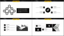 黄黑极简杂志风年终工作总结PPT模板示例5