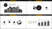 黄黑极简杂志风年终工作总结PPT模板示例7