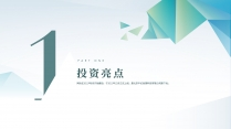 【商务】清新简洁实用主义商业计划书2示例3