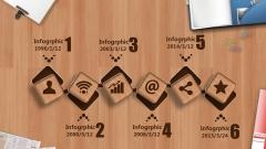 【仿真】办公桌 时尚创意 流畅演示 欧美 模板示例4