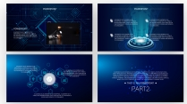 互联网的世界~满屏的科技感示例4