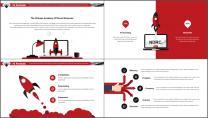 【極致商務】簡約畫冊風企業公司品牌介紹工作PPT示例4