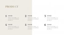 【北欧风】极简雅致白金商务PPT模板11示例7