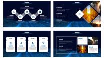 IOS风格超实用大气简约图形化商务报告23示例4