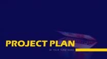【IT互联网】公司商务项目汇报简约PPT示例2