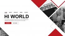 【极致商务】简约画册风企业公司品牌介绍工作PPT
