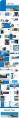 【杂志风】36P蓝色大气商务杂志风PPT模板示例5