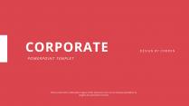 【极简风】红色图文杂志风网页商务工作汇报PPT模板
