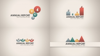 2014复古微立体商务PPT模板合集4套