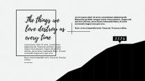 【纯黑】纯黑时尚模板示例3
