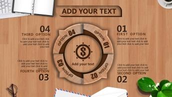 【仿真】办公桌 时尚创意 流畅演示 欧美 模板示例5