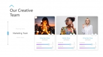 【油彩质感】商务多功能时尚推广介绍演讲创意模版示例7