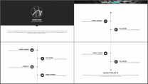 酷黑网页风企业/公司工作汇报PPT模板示例6