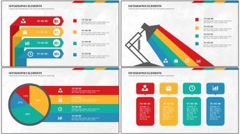 扁平可視化商務信息圖表20套【第 六期】