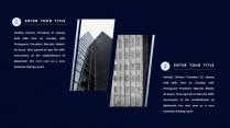 商务简约扁平化年终总结报告示例5
