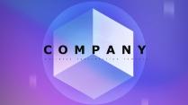 【抽象几何】现代商务汇报工作计划企业策划模板04