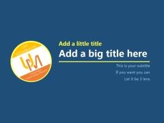 【超简】单色项目介绍、项目报告模版