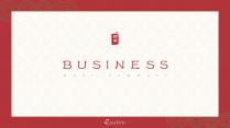 【新中式商務】紅白金工作通用模板12