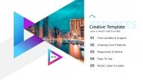 【科技概念】抽象创意视觉 演讲提案品牌多用途模版示例3