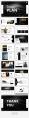 【简约商务】纯黑欧美致简网页杂志风PPT模板示例5