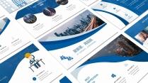 起航蓝色(三十三)工作报告模板【207】