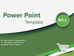 綠白簡潔商務匯報
