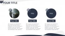 【蓝白自然】通用商务年终数据报告模板示例6
