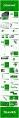 【立体】绿色立体抽象创意商务汇报总结PPT模板示例3