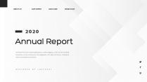 【創意幾何】高端黑色總結報告工作計劃商務展示模板