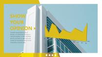【风格】四色杂志风商务通用模板示例5