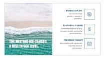 【大海航行全靠浪】欧美杂志风格商务模板示例4