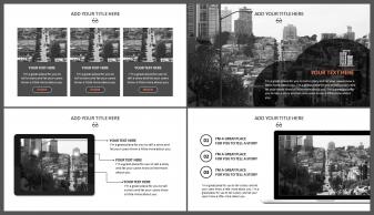 网页风格·欧美·简约·大气商务模板示例5
