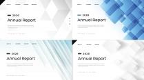【创意几何】高端商务总结报告商务展示模板【含四套】