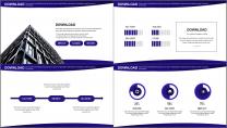 【商务中国】创意插画科技互联网公司企业工作PPT示例6