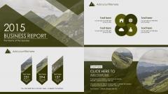 【动态】【绿色·大气时尚潮流欧美风】实用商务模板3