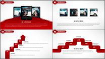 大气红色拉链创意企业介绍工作汇报PPT模板示例4