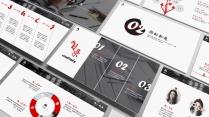 [ 商范儿 ] 双配色中文版简约大气商务PPT模板