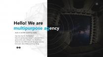 【科技概念】抽象创意视觉 演讲提案品牌多用途模版示例6