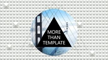 欧美杂志排版简洁高端实用PPT模板22