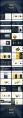 创意黄蓝年终总结工作计划商务策划模板示例3